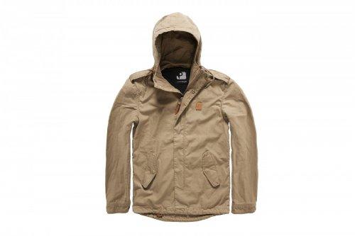 Vintage Industries Mason Parka Jacket Khaki S