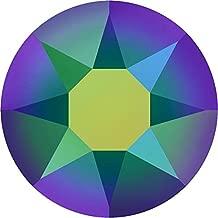 2000, 2038 & 2078 Swarovski Flatback Crystals Hotfix Crystal Scarabaeus Green | SS20 (4.7mm) - Pack of 100 | Small & Wholesale Packs