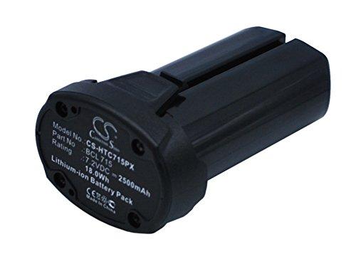 Ekkos Battery for Hitachi WH7DL BCL 715 (Li-ion,2500mAh)