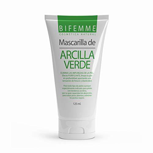 Mascarilla Facial Purificante Verde 125 ml| Hidratar Piel | Ajustar el Equilibrio de Agua y Aceite| Limpieza facial profunda| Aquisana