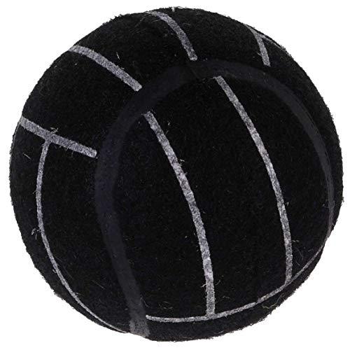 Pets Collection Hundeball Tennis Ball, Ø 7,5 cm, schwarz, Farbe:schwarz