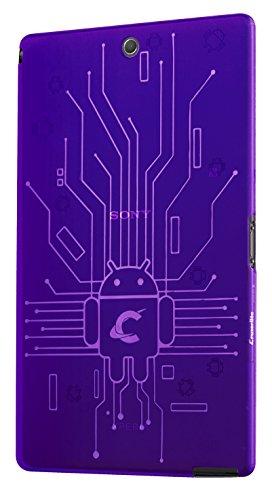 Cruzerlite Bugdroid Schaltkreis-Schutzhülle für Sony Xperia Z3 Violett violett
