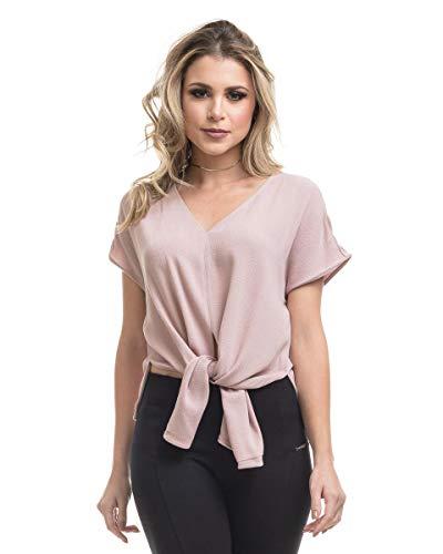 Blusa Clara Arruda Viscose Design 20475 - P - Nude