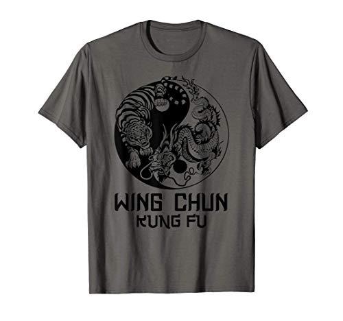 Wing Chun ying yang tiger dragon T-Shirt