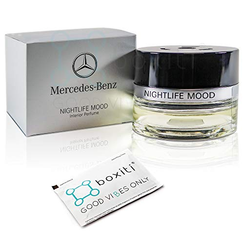 Boxiti Genuine Nightlife Mood Car Air Freshener - Interior Cabin Atomizer Fragrances for Mercedes C E GLC GLE CLS S Class, Suitable for Cars Equipped Air Balance Package (P21)