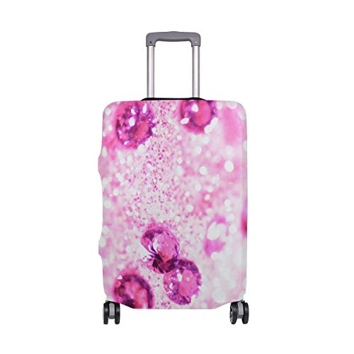 Travel Lage Cover Precious Diamond Gravel Dream Suitcase Protector Fits 26-28 Inch Washable Baggage Covers