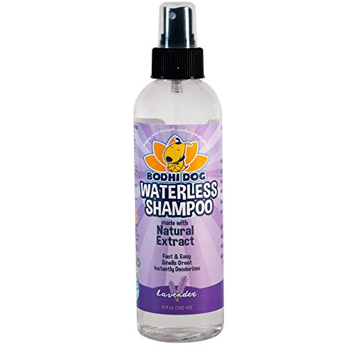 New Waterless Dog Shampoo | All Natural Dry Shampoo for Dogs or Cats No Rinse...