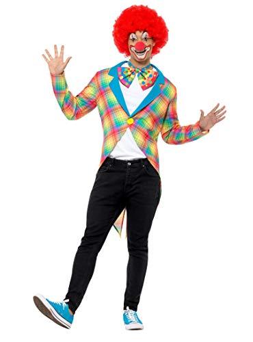 Smiffys Płaszcz w kratę klauna