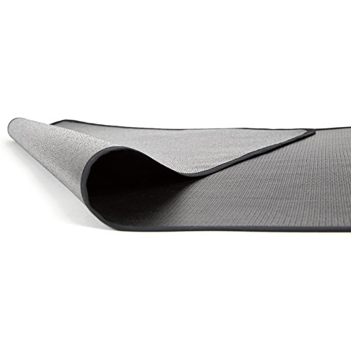 TEXFIRE - Alfombra ignífuga Doblecara, protector de suelo para barbacoa y parrilla (100x50 cm)