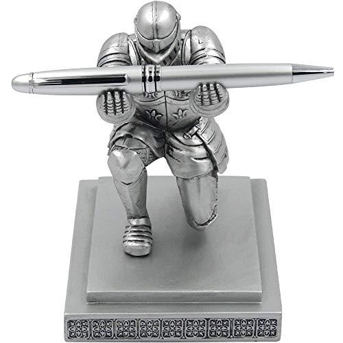 Abester Executive Knight Stiftehalter – Personalisiertes Schreibtisch-Zubehör, Stiftehalter als Geschenk, kreatives Geschenk von Vorgesetzten und Kollegen (er kommt auch mit einem Stift)