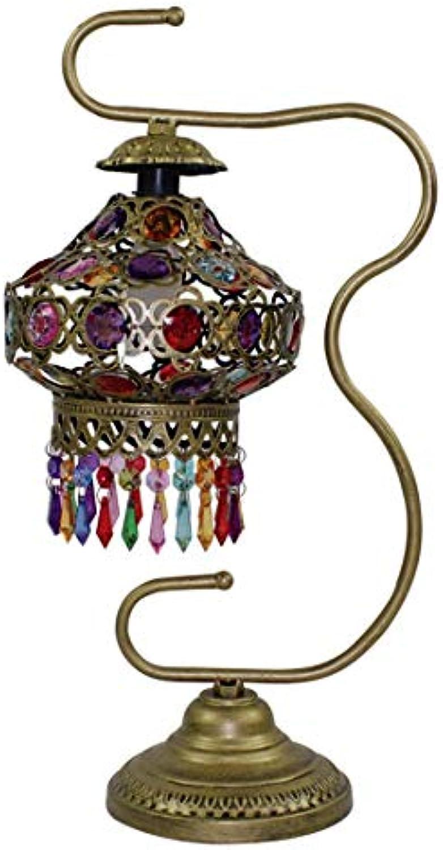 Retro Tischlampe Kreative Schmiedeeisen Tischlampe Europischen Schlafzimmer Nachttisch Hotel Hochzeit Dekoration Tischlampe