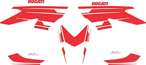 Vultur Bike Kit zelfklevend kleur design - Ducati Hypermotard 821/939 821 Rouge Ducati