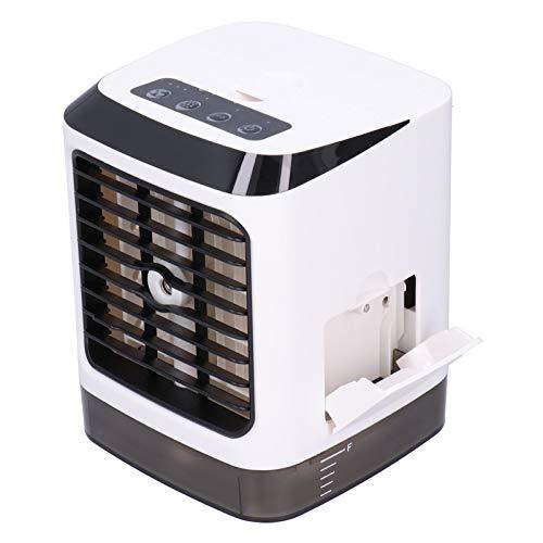 Humidificador, Mini refrigerador de Aire Blanco portátil de 480ml USB con Tres Engranajes para la Oficina en casa para el Escritorio