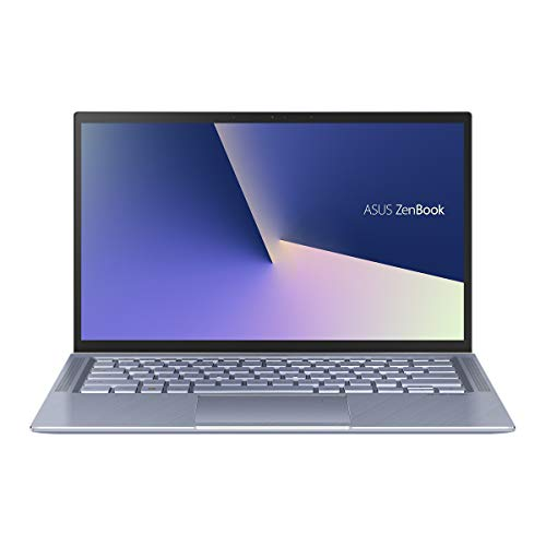 ASUS ZenBook 14 UX431FA-AM132T - Portátil de 14' FullHD (Intel Core i5-10210U, 8GB RAM, 512GB SSD, Intel UHD, Windows 10) Metal Azul Plata - Teclado QWERTY Español