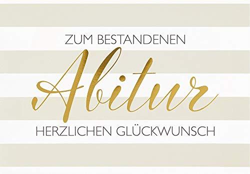 Karte zum Abitur Basic Classic - Textkarte, quer - 11,6 x 16,6 cm