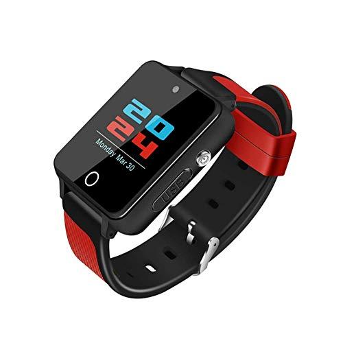 ZZKK Smart Watch Smartwatch Bluetooth Sweatproof Telefoonhorloge met Camera SIM-kaartsleuf, Android 5.1 Besturingssysteem Bluetooth 4.0 GPS Kaart Navigatie ect