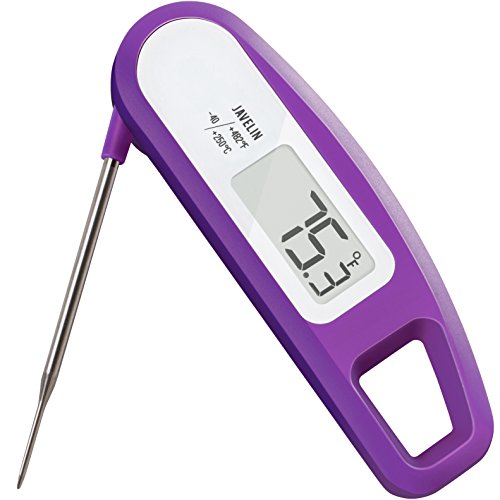 Why Should You Buy Lavatools PT12 Javelin Digital Instant Read Meat Thermometer for Kitchen, Food Cooking, Grill, BBQ, Smoker, Candy, Home Brewing, Coffee, and Oil Deep Frying
