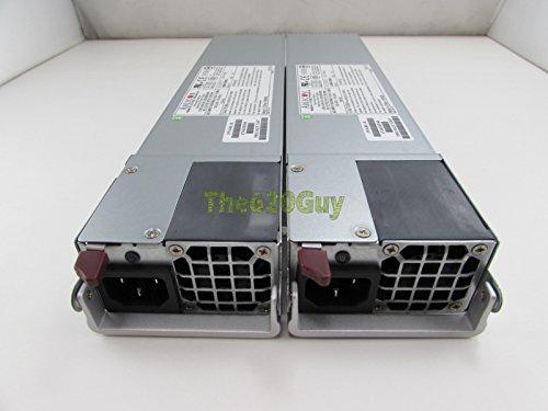 Lot of 2 Ablecom Supermicro PWS-801-1R 800W PFC 1U Server Redundant Power Supply