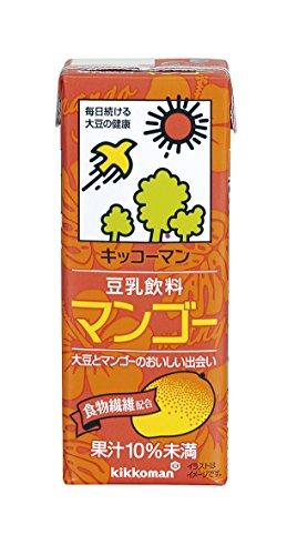 キッコーマン 豆乳飲料 マンゴー 200ml×18本