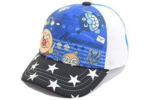 NOBRAND アンパンマン キャップ AN72850 457008 帽子 キッズ 子供 なりきり キャラクター ネット通販 春夏 (約53cm, ネイビー)
