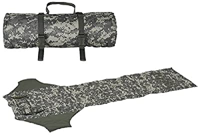 Ultimate Arms Gear ACU Army Digital Camo Deluxe Roll Up Shooter's Shooting Sniper Hunting Protective Padded Mat with Ammo Shell Cartridge Bullet Holder & Pocket Pouches
