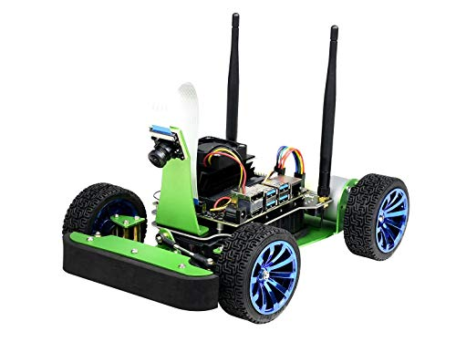 Waveshare JetRacer AI Racing Robot Powered by Jetson Nano DonKeyCar with Deep Learning Slef Driving and Vision Line Following