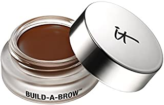 it Cosmetics Build-A-Brow Waterproof 5-in 1 Micro Fiber Creme Gel Stain (Dark Brown) by It Cosmetics