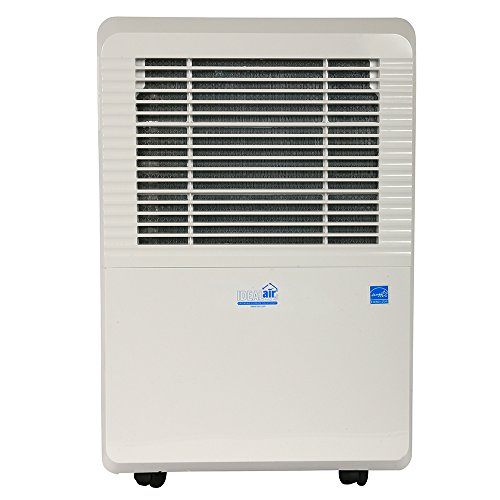 Check Out This Ideal-Air Dehumidifier | 50 Pint | Portable, LED Display w/ Dehumidistat and Timer In...