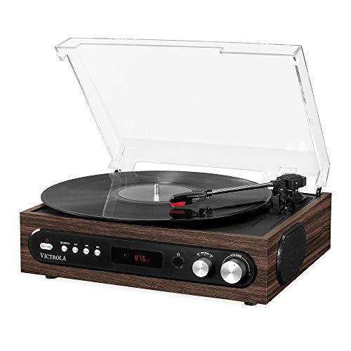 Victrola 3-in-1 Bluetooth Plattenspieler Vynil Music Center, VTA-65-ESP-EU