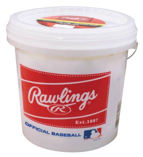 Bola de beisbol Rawlings Official League - Pelotas de béisbol de grado recreativo