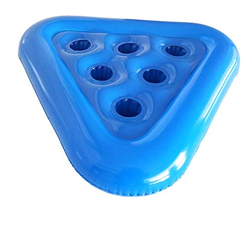 Summer Toys Pool Pong Rack Floating Beer Pong Tisch Machen Sie Ihre Party lustig mit 6 Getränkehaltern & Pingpongs