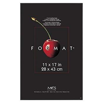 MCS Format Frames 11 x 17 in Black