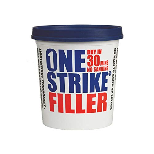 Everbuild One Strike Multi-Purpose Ready To Use Filler, White, 2.5 Litre