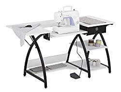 portable sewing machine table