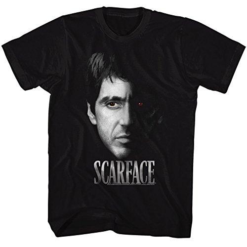 2Bhip Scarface 1980's Gangster Crime Movie Al Pacino Tony Montana Face...