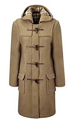 Original Montgomery Womens Duffle Coat - Camel Size 8 by