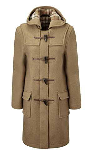 Original Montgomery Damen Duffle Toggle Coat Camel EU 40  Herstellergröße 12 (UK 36)