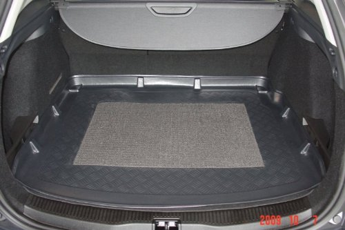Kofferraumwanne mit Anti-Rutsch passend für Renault Megane III Grandtour 2009-