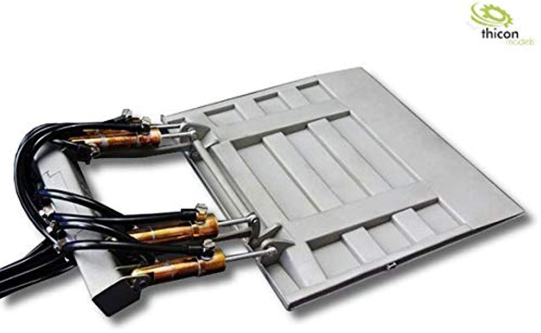 THICON-MODELS 1 14 Hebebühne hydraulisch aus Edelstahl