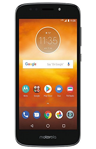 Virgin Mobile Moto e5 Play 5.2 HD Touchscreen, 16gb ROM, 2gb ram Prepaid Phone