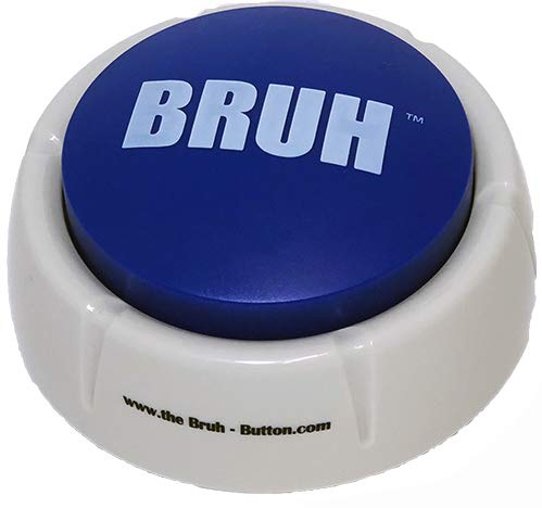 The Bruh Button Toy - A Real Life Blue Bruh Button Meme