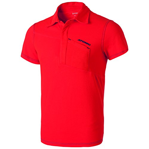 ATOMIC T-Shirt da Uomo Alps Pepper Polo
