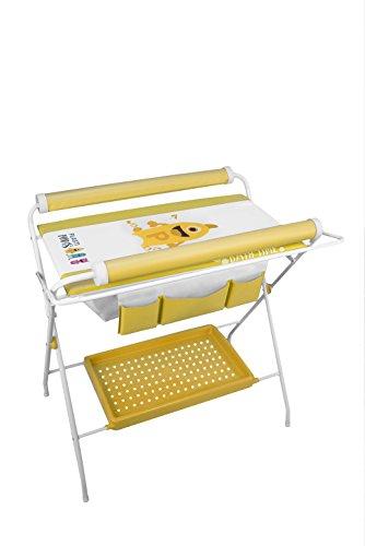 Bañera flexible para bebés Plastimyr Plastimons color amarillo