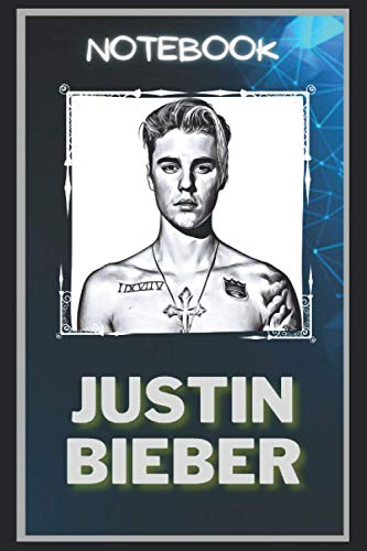 Justin Bieber Notebook: A Multipurpose and High Quality Notebook That Can Be used as a Journal. (110+ Pages, 6 x 9, Lined)