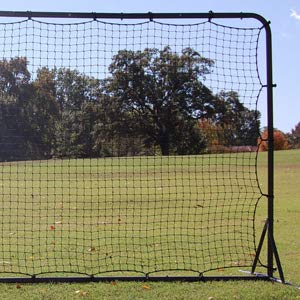 Trigon Sports Soccer Rebounder Training Net, 6 x 12-Feet, Black