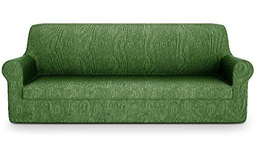 PETTI Artigiani Italiani Sofa-Überwürfe, Grün, 3 Sitzer(170 bis 210 cm)