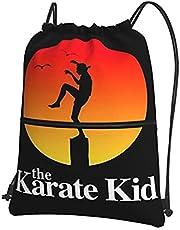 De Karate Kid Trekkoord Gym Tassen Waterdichte Trekkoord Tas PE Zak voor School Meisjes Jongens Rugzak Zwemmen Winkelen Yoga School Beach Voetbal