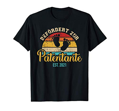Zur Patentante befördert seit 2021 vintage T-Shirt