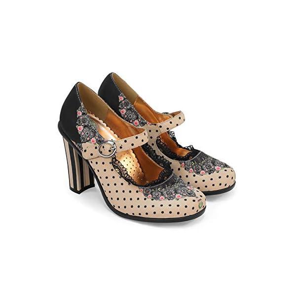 Hot Chocolate Design Chocolaticas High Heels Women's Mary Jane Pumps 3