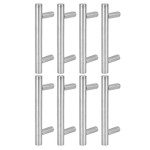 8pcs Cabinet Handle, Cabinet Pulls, Home Furniture Hardware Heavy Duty for Wardrobes Doors Drawer Cabinet